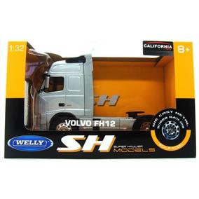 Veículo Em Miniatura Caminhão Volvo Fh12 Welly