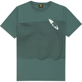 Camiseta Masculina Meia Malha Lemon