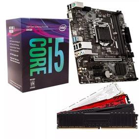 Kit 8º Geração Intel Core I5 8400 + H310m + 8gb Ddr4 2400mhz