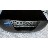 Sony Boombox 2 W Rms Portatil Cd Mp3 Radio Am Fm Emergencias