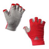 Guantes adidas Gym Womens Clmo Glove Rojo Gris Originales