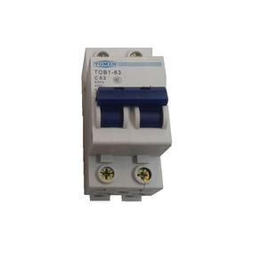 Interruptor Termomagnético 220v 400v De 2x63a, Formato Din