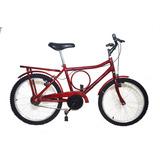 Bicicleta Aro 20 Barraforte Infantil New Bike