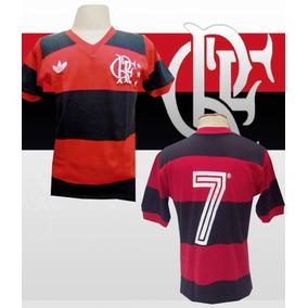 089f4bbde6 Camisa Flamengo Zico 1982 - Calçados