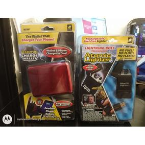Atomic Charge Wallet Billetera + Atomic Lighter