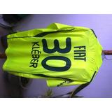 Camisa adidas Palmeiras Kléber Gladiador Verde Limão Usada G