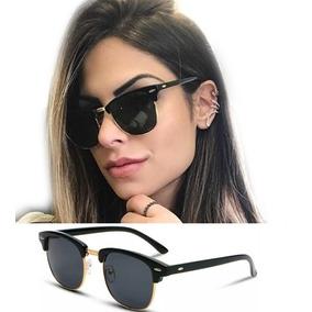 Óculos De Sol Feminino Masculino Blogueira Gatinho Retrô