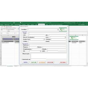 Planilha Para Cadastro De Clientes V3 - Frete Grátis - Acx09