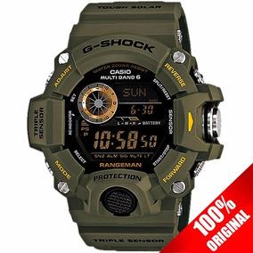 Reloj Casio G Shock Gw 9400 Verde Altímetro Barómetro Solar