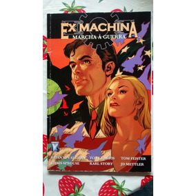 Ex Machina Vol 4 Marcha À Guerra Panini