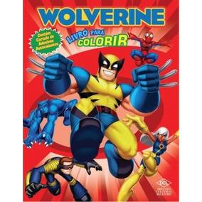 Livro Wolverine - Livro Para Colorir - Frete Gratis