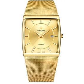 99ea2f15371 Pulseira Relogio Aço E Ouro Cromada - Relógios no Mercado Livre Brasil