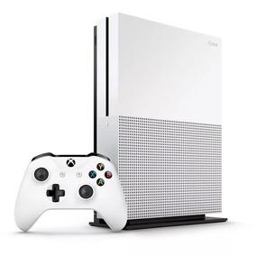 Xbox One S 1tb Novo 1 Ano De Garantia + Nf E Adaptador