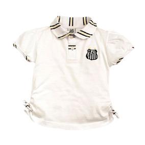 9c6ea3dd312fb Camiseta Polo Infantil Do Santos Menina Rêve Dor - Sfc310