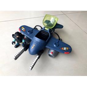 0256c534f53 Imaginext Super Aviões Sky Racer Tornado Cinza Fisher Price ...