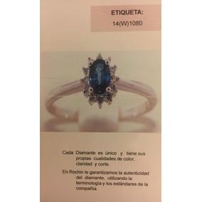 Anillo Diamante Montado Oro Blanco De 14kt