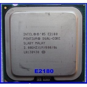 Procesador Intel Dual Core 2.0 Ghz Socket 775
