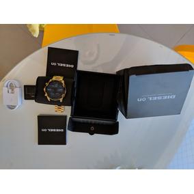 Relógio Diesel Smartwatch Dzt2005 Dourado Full Guard