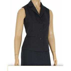 Uniforme Colete Azul Marinho Feminino - Calçados 689b18b785720