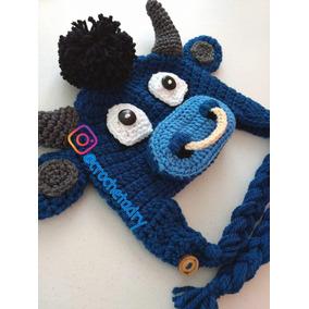 Gorro Toro Crochet Bebés, Niños Y Adultos