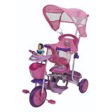 Triciclo Infantil Princesas Rosa Xg-8001 Disney