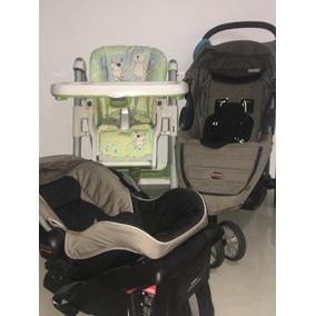 Coche Asiento Reclinable,porta Bebé,silla En Perfectas Condi