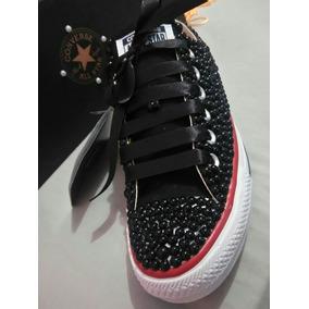 All Star Customizado Perola Feminino Converse - Calçados 31e9e5f3da