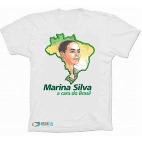 Camisa Blusa Marina Silva Presidente 2018 Rede