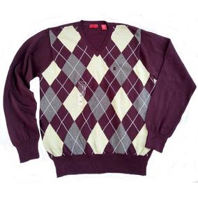 Sweater Izod Talla L Rombos