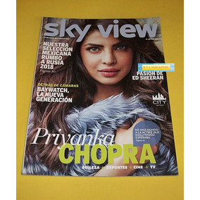 326b23d016 Priyanca Chopra Zac Efron Ed Sheeran Revista Sky View 2017