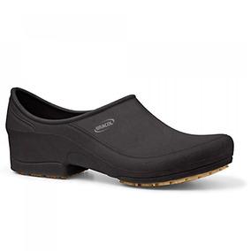 Sapato Flip Impermeável Preto Com Solado De Borracha Nº 36-b 5cb709c614