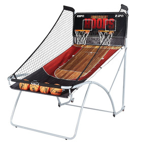 Canasta Basquetbol Electronico Doble Aro Tablero Led Sonidos