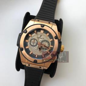 68b5fee9a23 Relogio Hublot Geneve Rose Gold - Relógios no Mercado Livre Brasil