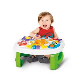 Mesa De Atividades Smart Table Calesita Com Som E Acessórios