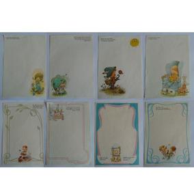 Coleção De Papel De Carta Giordano Anos 80 Lote 109