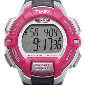 569bba2506b2 Reloj Marathon 99 Laps 5k3600 Timex Negro Rosa - Relojes en Mercado ...