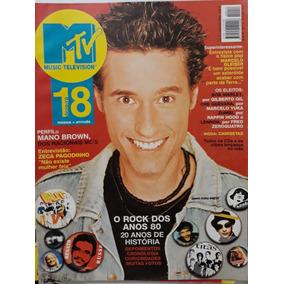 2b14a75355a Revista Mtv N. 18 Rock Anos 80