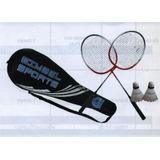 Juego Raquetas Badminton Semi Profesional