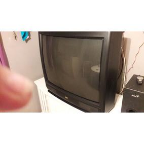 Televisor De 36 Jvc Convencional 50 Verdes