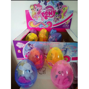 Huevo Sorpresa De Pony Unicornio Juguete De Niña