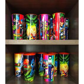 Dragon Ball Super Broly, Cinemex Vaso. Goku, Vegeta, Gohan