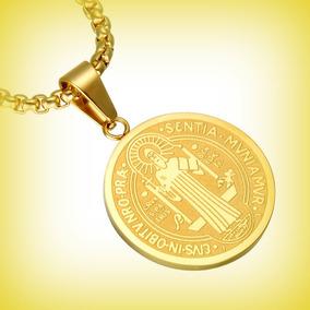 0fed4eda1868a Pingente Medalha Milagrosa Aço Inox - Joias e Bijuterias no Mercado ...