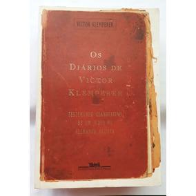 Livro Os Diários De Victor Klemperer Judeu Alemanha Nazista