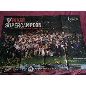 Póster River Campeón Libertadores 2018 Revista 1986