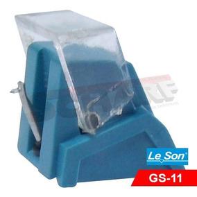 Agulha Leson Gs-11 Diamante Toca Disco - Lacrado