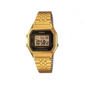 Relógio Feminino Casio Digital - Resistente A Água La680wga-