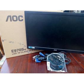 Monitor Aoc E970s19 Pulgadas / Usado