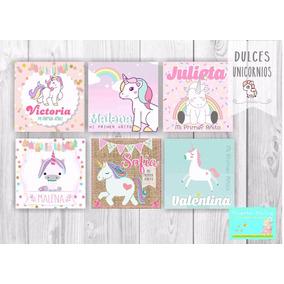 Souvenir Unicornio Souvenirs Para Cumpleanos Infantiles Libretas