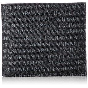 A|x Armani Exchange Billetera Para Tarjetas De Crédito Con D