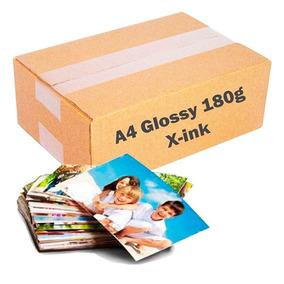 Papel Fotográfico 180g Glossy A4 À Prova D´água 100 Folhas